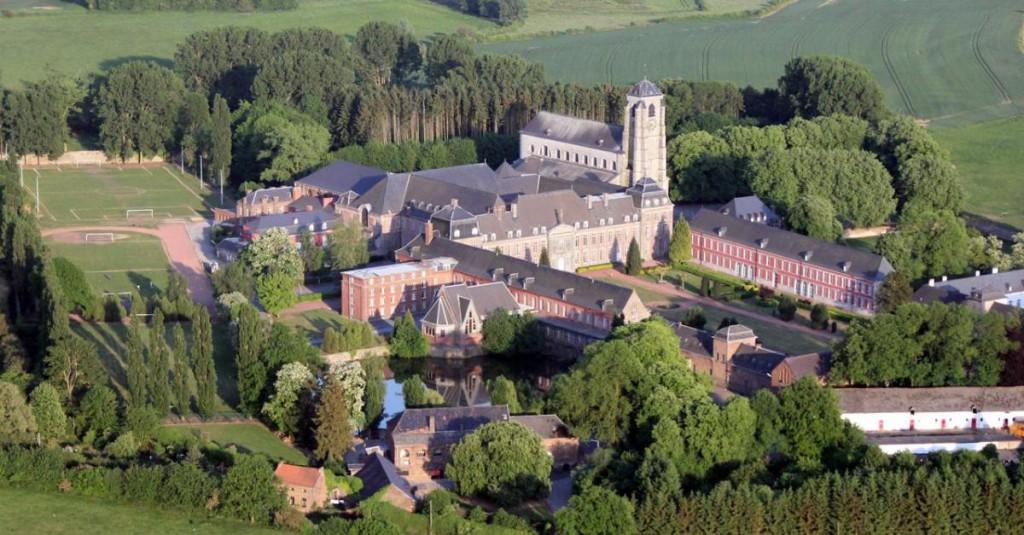 Abbaye de Bonne-Espérance vue aérienne bis