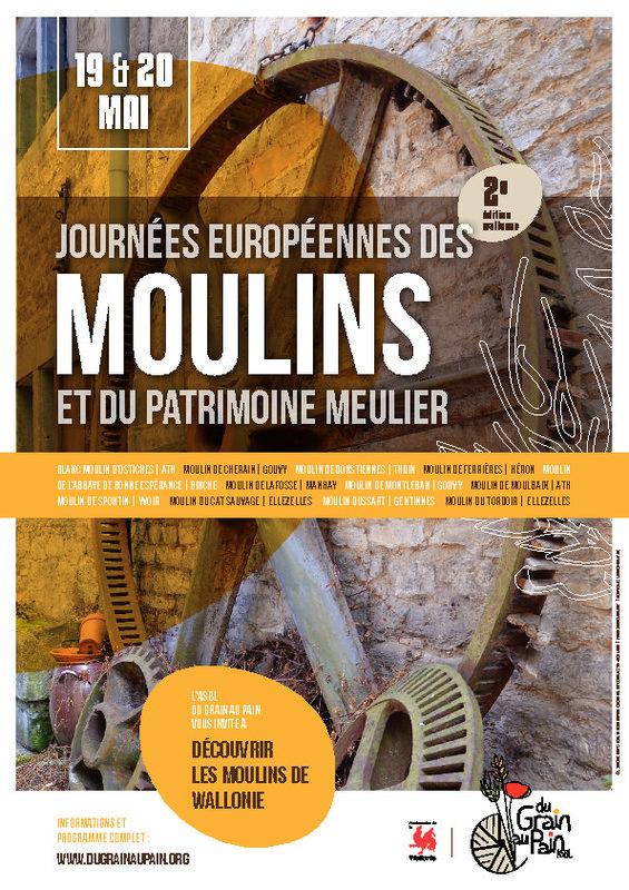 journées europpéennes des moulins