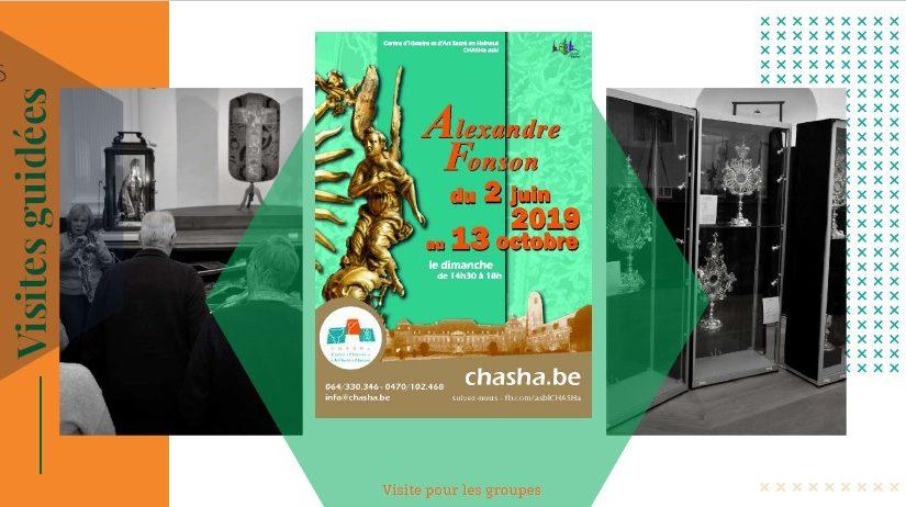 Les réservations pour les visites guidées sont ouvertes au CHASHa!