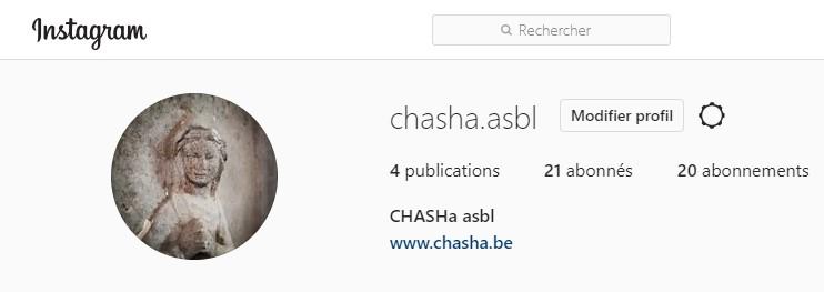 Le CHASHa sur instagram
